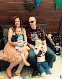 gatblogger Tina en haar gezin