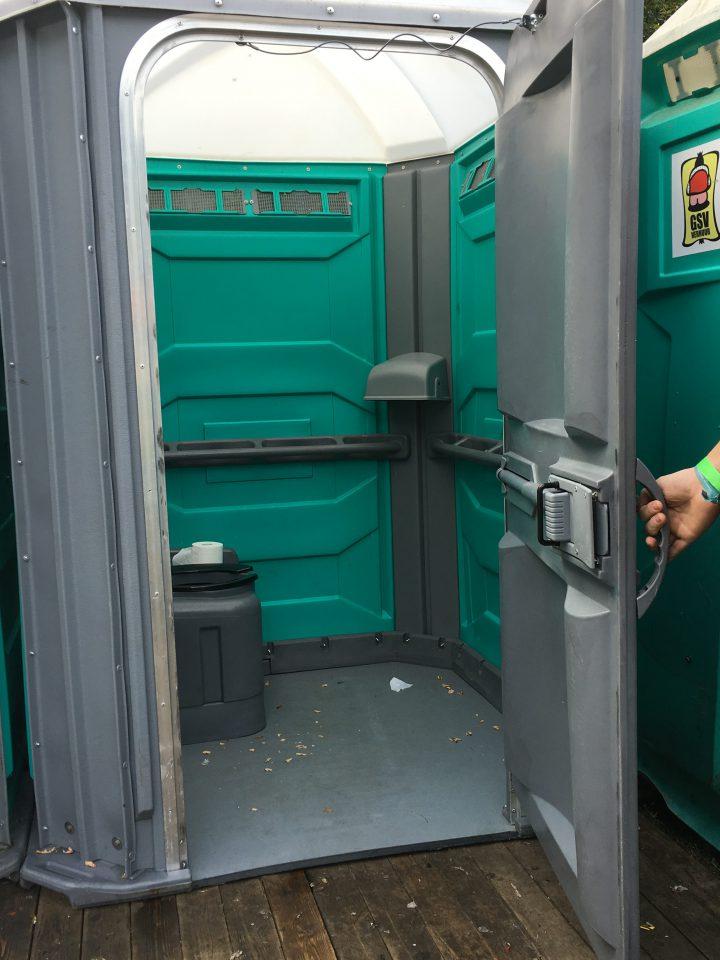 Toegankelijke festival wc