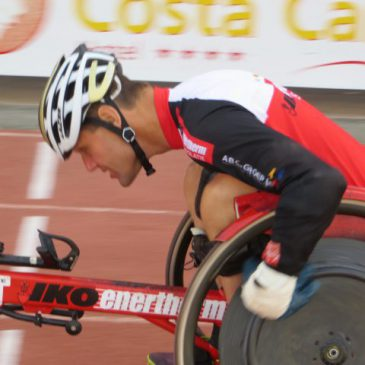 Peter Genyn paralympics racer