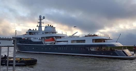 Gelukscoach Berte op luxeboot The Legend