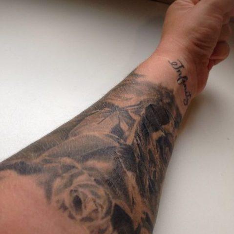 tattoos van de zus