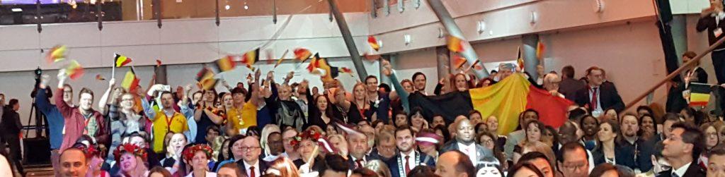 De Belgische delegatie op de JCI wereldcongres 2017 in Amsterdam