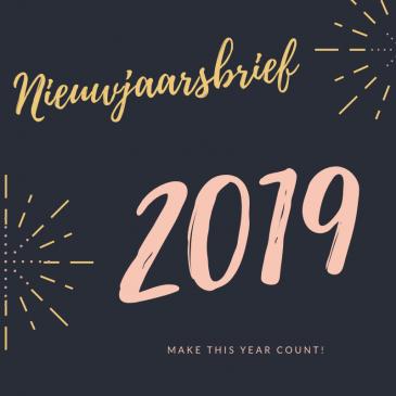 Nieuwjaarsbrief 2019