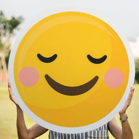 gelukkige smiley